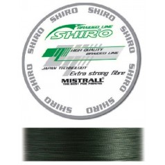 Шнур MISTRALL SHIRO BL GREEN 150M