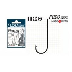 Крючки FUDO WORM SSB Black (черный)