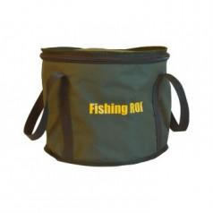 Ведро мягкое с крышкой Fishing ROI