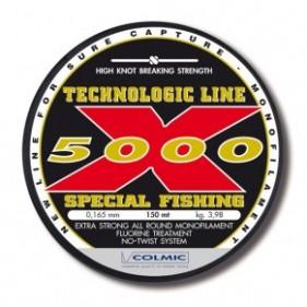 Леска COLMIC X-5000 150MT