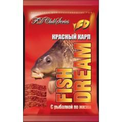 Прикормка FishDream Красный карп
