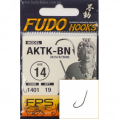 Крючки FUDO AKITA  KITSUNE