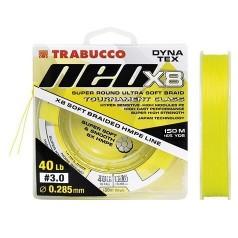 Шнур Trabucco DYNA-TEX NEO X8 Light Yellow 150м
