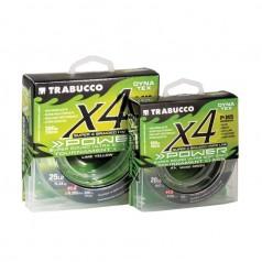 Шнур Trabucco Dyna-Tex 4X Power Lime-Yellow желтый 150м