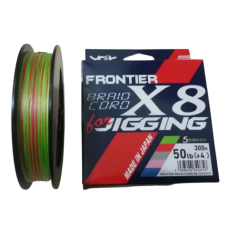 Шнур плетеный YGK Frontier Braid Cord X8 for Jigging 200m