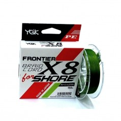 Шнур плетеный YGK Frontier Braid Cord X8 for Shore 150m