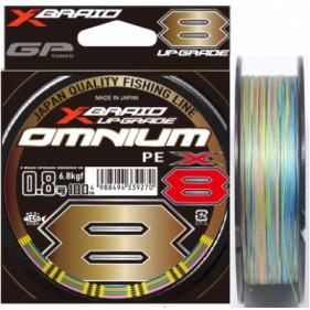 Шнур плетеный YGK X-Braid Upgrade Omnium X8 150м, 200м